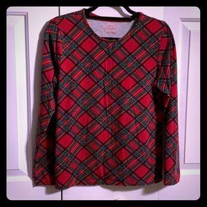 Talbots Plaid Long-Sleeve Shirt